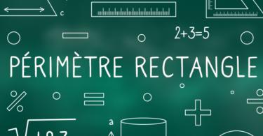Périmètre-rectangle