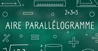 Aire-parallélogramme