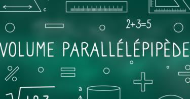 volume-parallélépipède